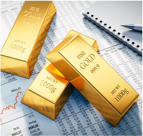 Kauf und Verkauf von Gold